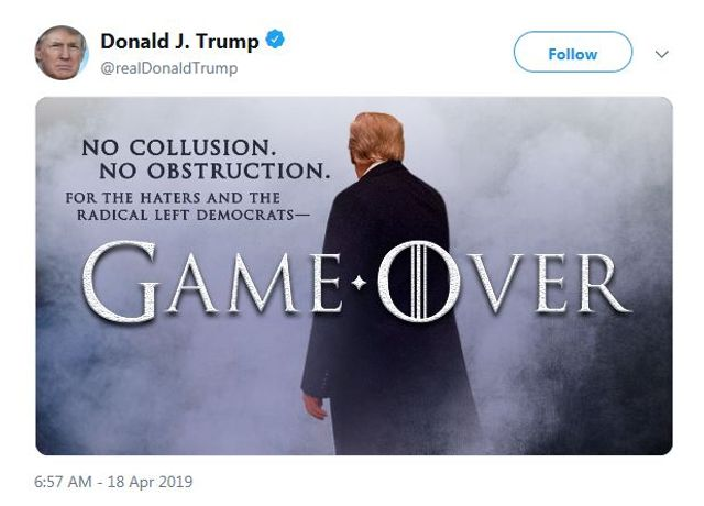 """HBO Objects to the President's """"Game of Thrones""""-Themed Tweet featured image"""