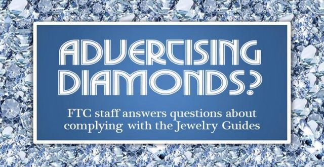More From the FTC on the Jewelry Guides, Including Guidance on the Use of Hashtags featured image