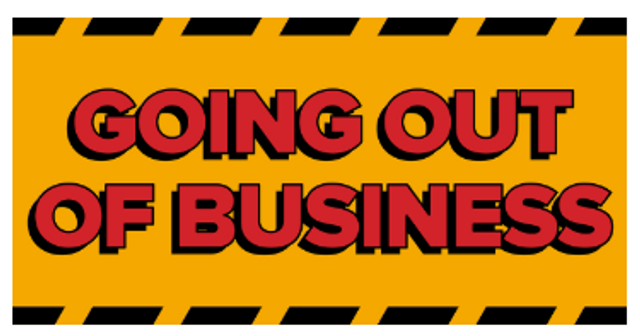 """Planning a """"Going out of Business Sale""""? featured image"""