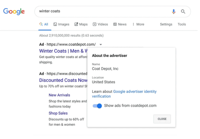 Google to Require All Advertisers to be Verified featured image