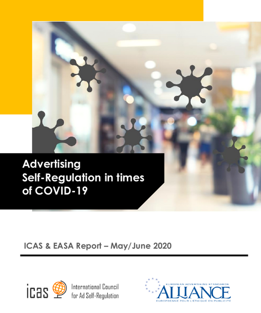 ICAS and EASA Release Report on Advertising Self-Regulation During COVID-19 featured image