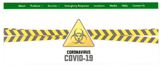 Tennessee AG Settles With Disinfectant Company Over COVID-19 Claims featured image