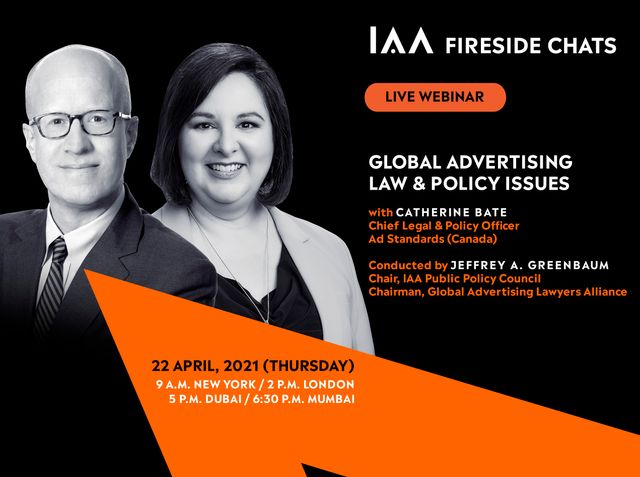 """You're Invited:  """"Global Advertising Law & Policy Issues -- Fireside Chat With Ad Standards Canada"""" featured image"""