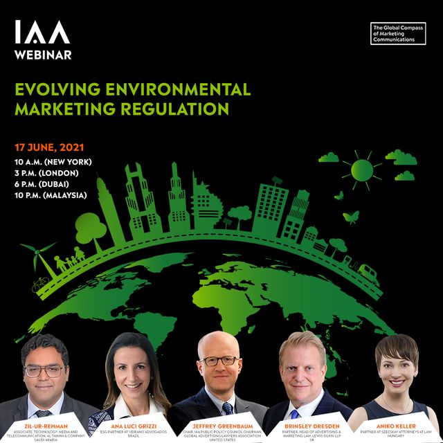 """You're Invited:  """"Evolving Environmental Marketing Regulation"""" Webinar (Updated) featured image"""