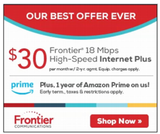 FTC and Six States Sue Frontier Communications for Misrepresenting Internet Speeds featured image