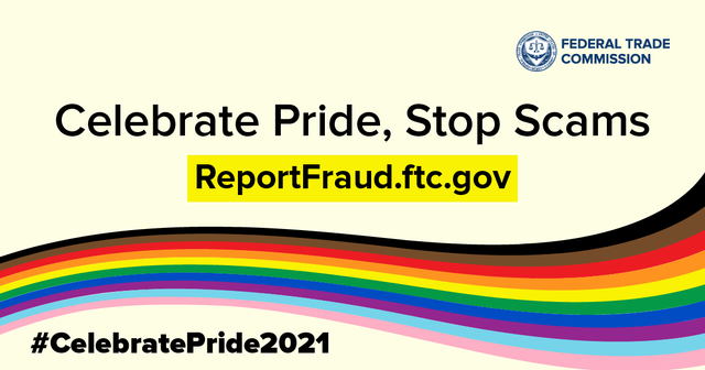 FTC Celebrates Pride; Highlights Risks to LGBTQ+ Community featured image