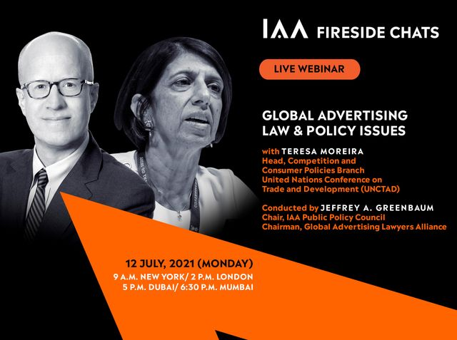 """You're Invited:  """"Global Advertising Law & Policy Issues -- Fireside Chat with the United Nations"""" featured image"""