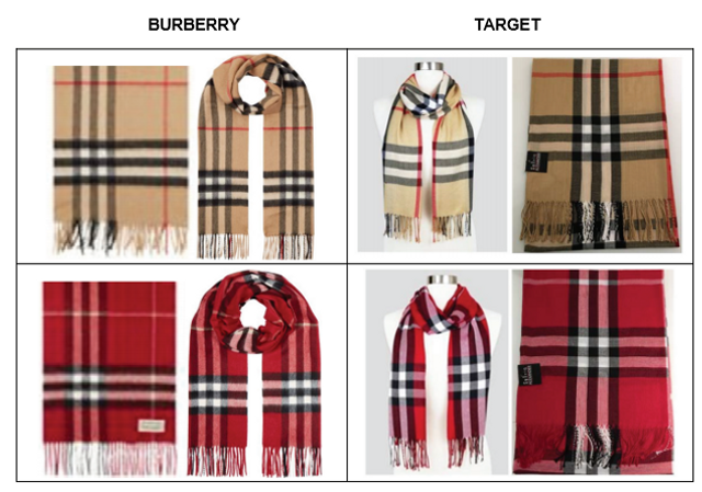 Burberry sues Target over use of check design featured image
