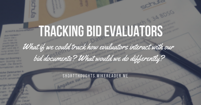 Could we track the way evaluators read our bids? featured image