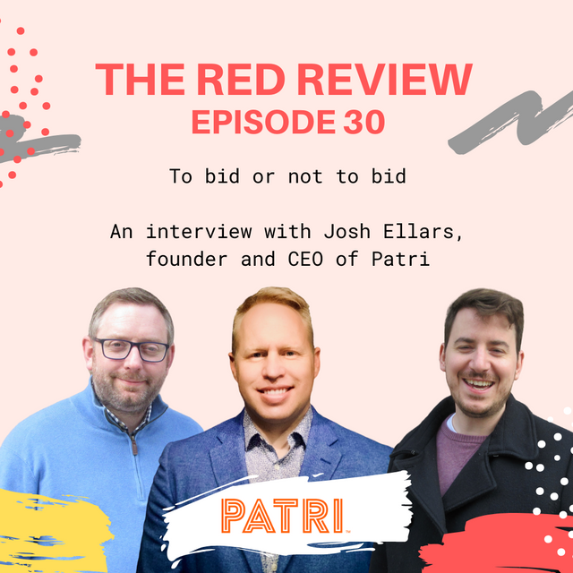 Show notes - Red Review Podcast S01E30 - To bid or not to bid featured image
