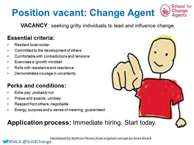 Be A Change Agent - Roles Available, Start Today! featured image