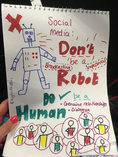 Be a Brave Human on Social Media, Not a Soulless Robot featured image
