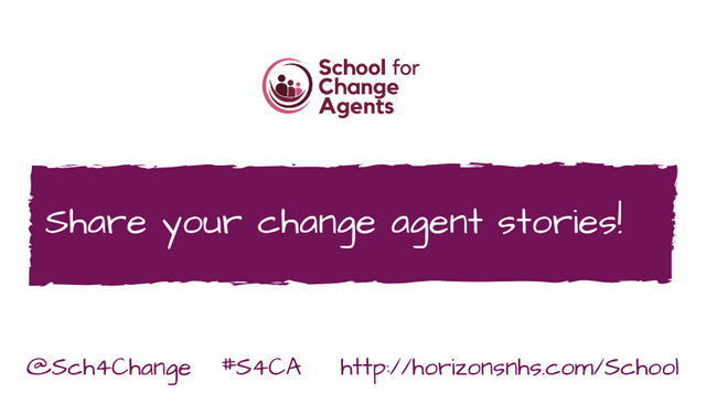 Share Your Change Agent Stories! featured image