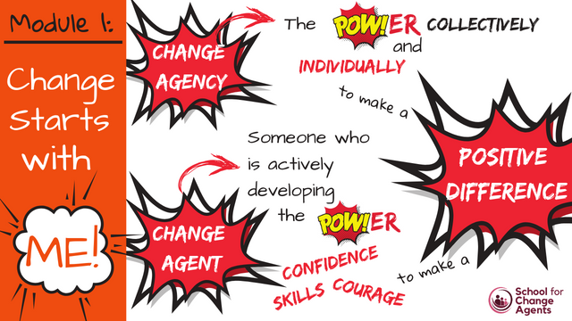 Change Starts With Me...and with Love: Module 1 of The School for Change Agents featured image