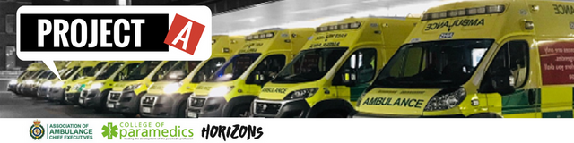 Help Improve Ambulance Services - join the #ProjectA Ideas Platform featured image