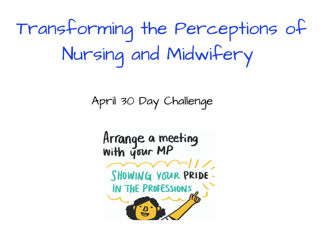 Arranging a Meeting with Your MP: April Nursing and Midwifery 30 Day Challenge featured image