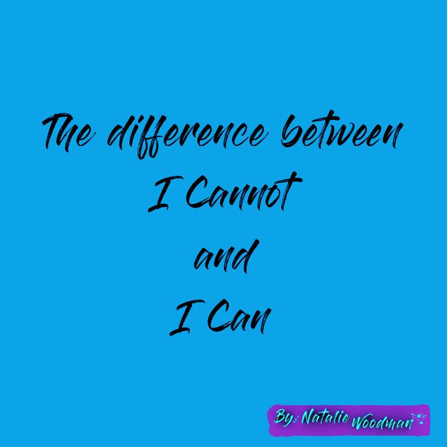 Do I believe I can or I can't? featured image