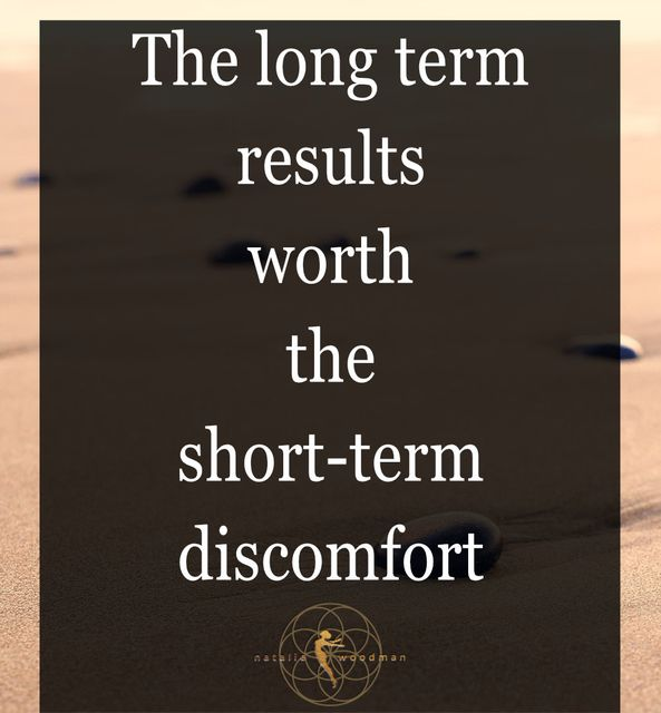 The long term results are worth the short-term discomfort featured image