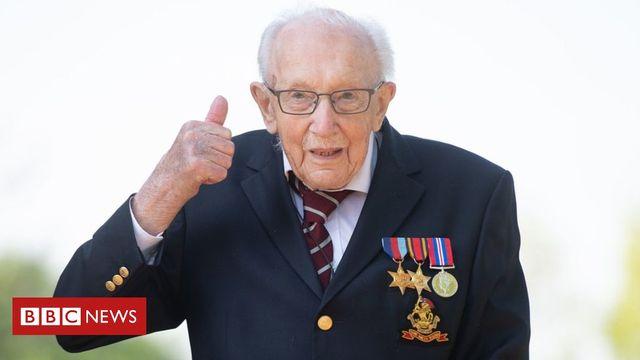 Congratulations Colonel Tom Moore featured image