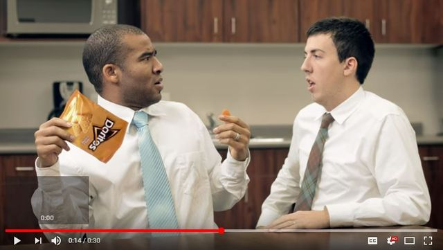 Crumbs. Bold Doritos YouTube ad cleared by ASA. featured image