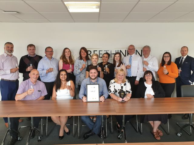 Freeths LLP Stoke are awarded Employer of the Year 2019! featured image