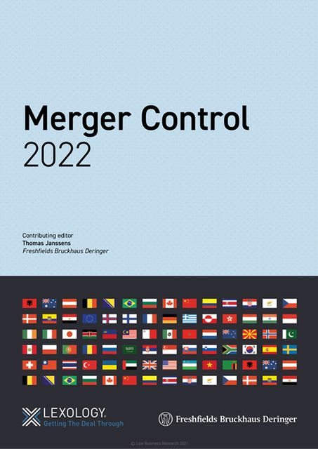 Lexology Getting The Deal Through: Merger Control – 2022 edition now out featured image