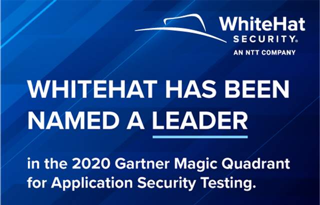 WhiteHat Security、米ガートナー社「2020 Magic Quadrant for Application Security Testing」レポートにおいてリーダーの評価 featured image