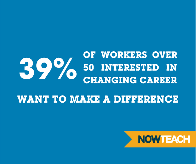 Over 50's want to change career – but need support to make the switch featured image