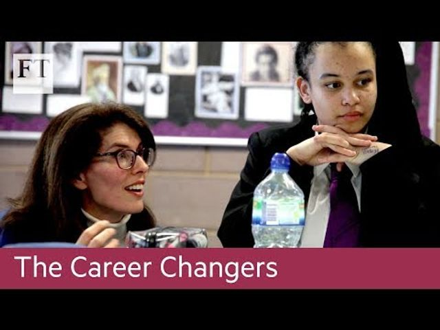 How to retrain as a teacher -FT Video featured image