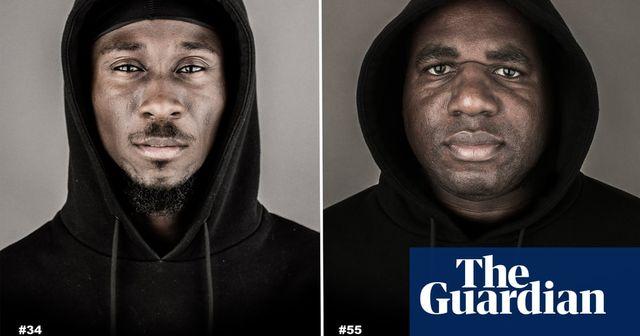 56 black men in hoodies... featured image