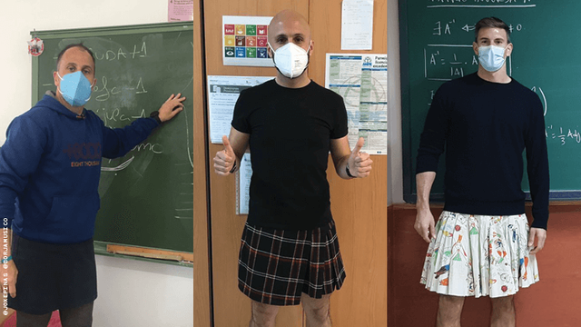 Male Teachers Are Wearing Skirts to School to Support Bullied Students featured image