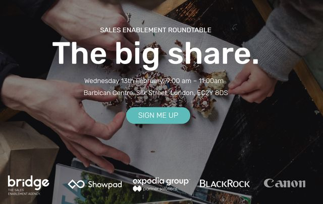 Event: 'The Big Share' Round Table featured image