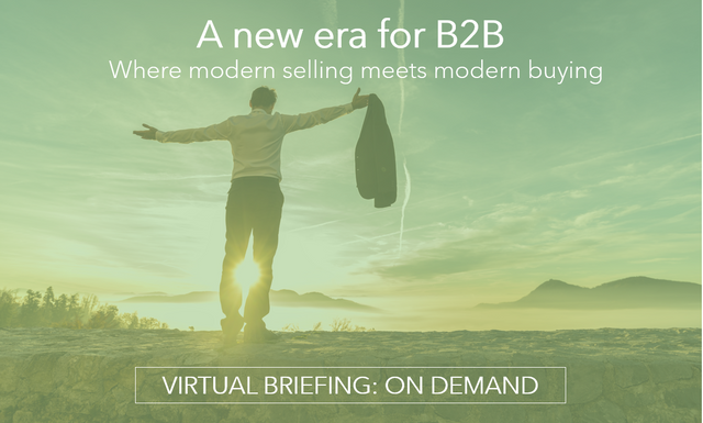 'A New Era for B2B' - Virtual Briefing featured image