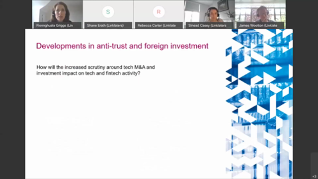 The future for the UK's fintech sector #3 - Developments in anti-trust and foreign investment featured image