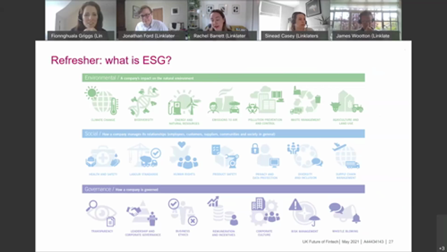 The future for the UK's fintech sector #5 - ESG challenges and opportunities for the sector featured image