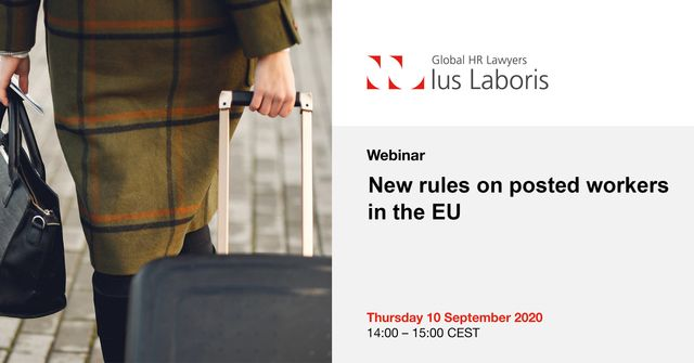 Ius Laboris Webinar: New rules on posted workers in the EU featured image