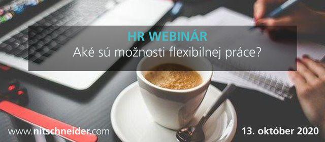 HR WEBINÁR: Aké sú možnosti flexibilnej práce? featured image