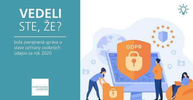 Vedeli ste, že bola zverejnená správa o stave ochrany osobných údajov za rok 2020? featured image