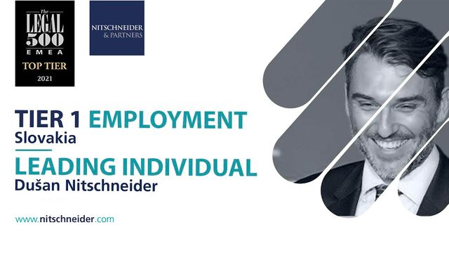 Leading position in Employment law confirmed by The Legal 500 ranking featured image