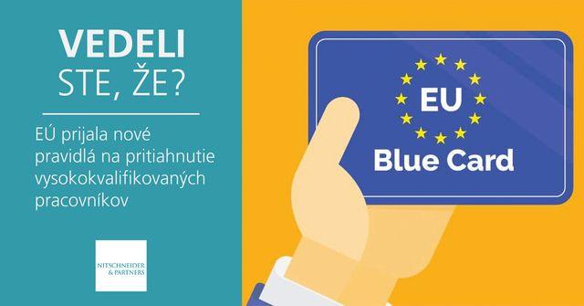 Vedeli ste, že EÚ prijala nové pravidlá na pritiahnutie vysokokvalifikovaných pracovníkov? featured image