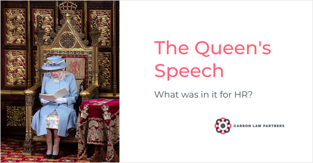 Was there anything in the Queen's Speech for HR? featured image
