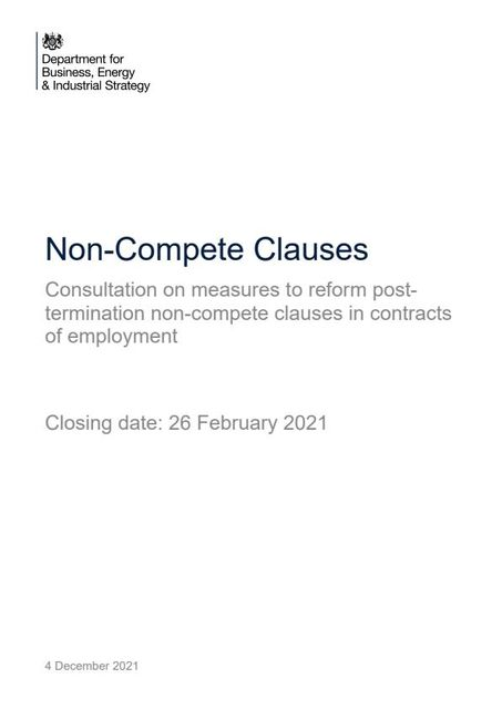Are we about to see the end of non-compete clauses in employment contracts? featured image