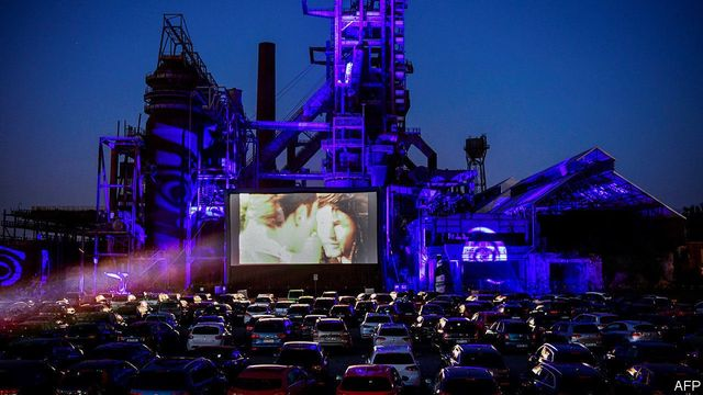 DRIVE IN LEISURE EXPERIENCES, A MOMENT IN AMBER OR GREEN LIGHT TO OUR NEW FUTURE... featured image