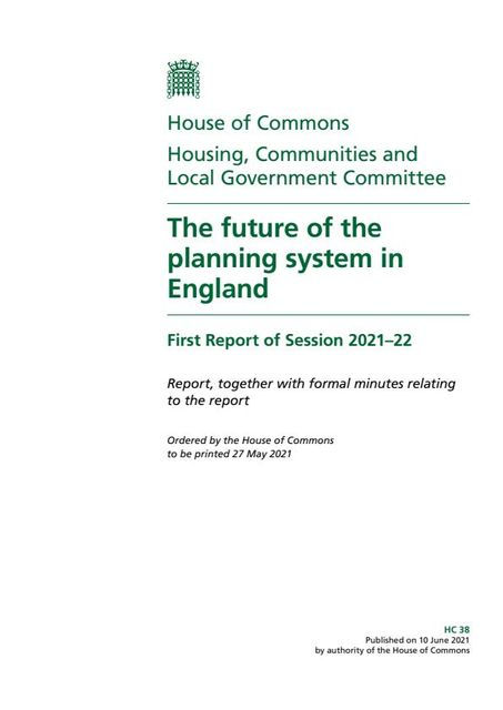 MPS CALL ON THE GOVERNMENT TO RETHINK PLANNING REFORM featured image