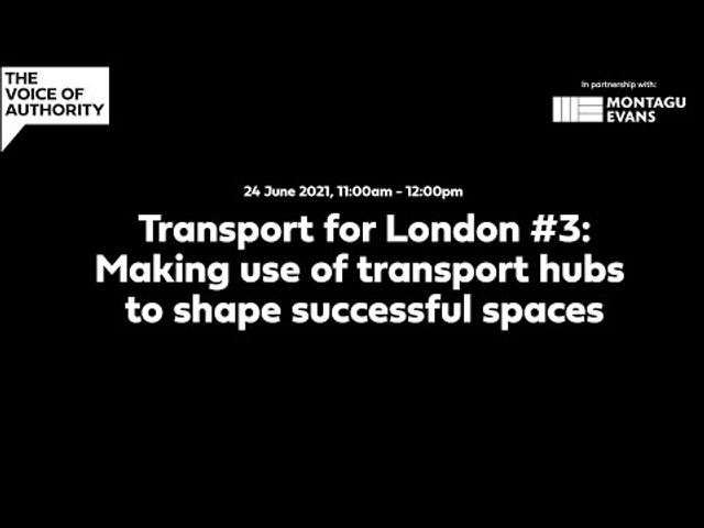 TRANSPORT HUBS SHAPING SUCCESSFUL PLACES featured image