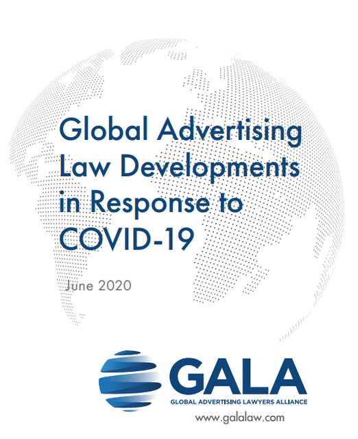 GALA Releases Report on Global COVID-19 Advertising Law Developments featured image
