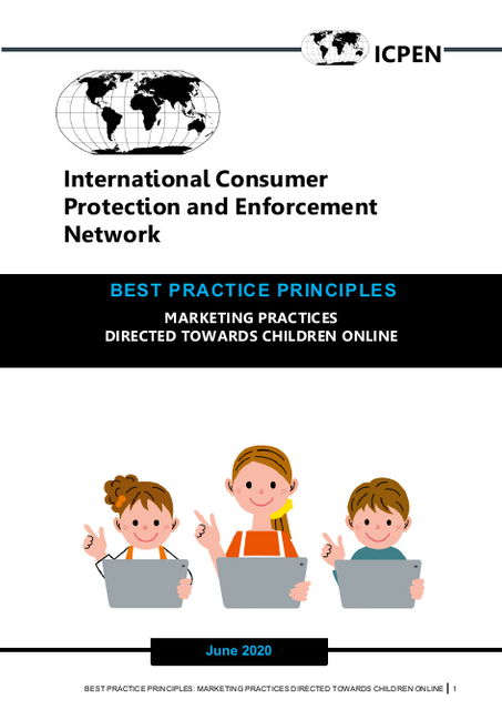 ICPEN Releases Best Practice Principles for Marketing to Children Online featured image