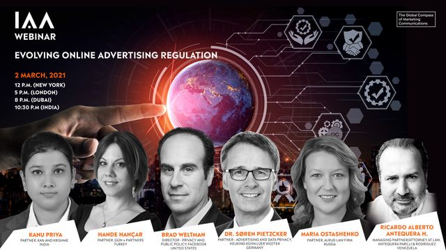 """You're Invited:  IAA's """"Evolving Online Advertising Regulation"""" Webinar (Updated) featured image"""