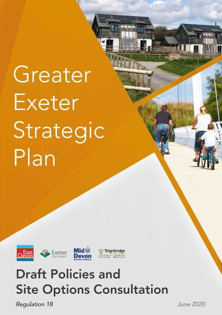 A Greater Exeter Strategic Plan (GESP) progress update. It's alive (and kicking) featured image
