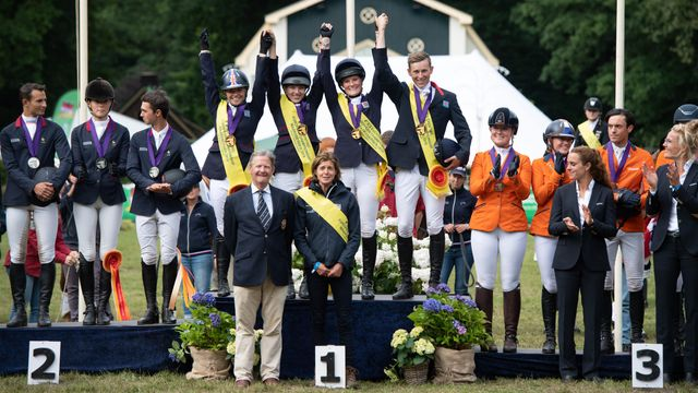Great result for the British team at the FEI Young Rider European Eventing Championships. featured image